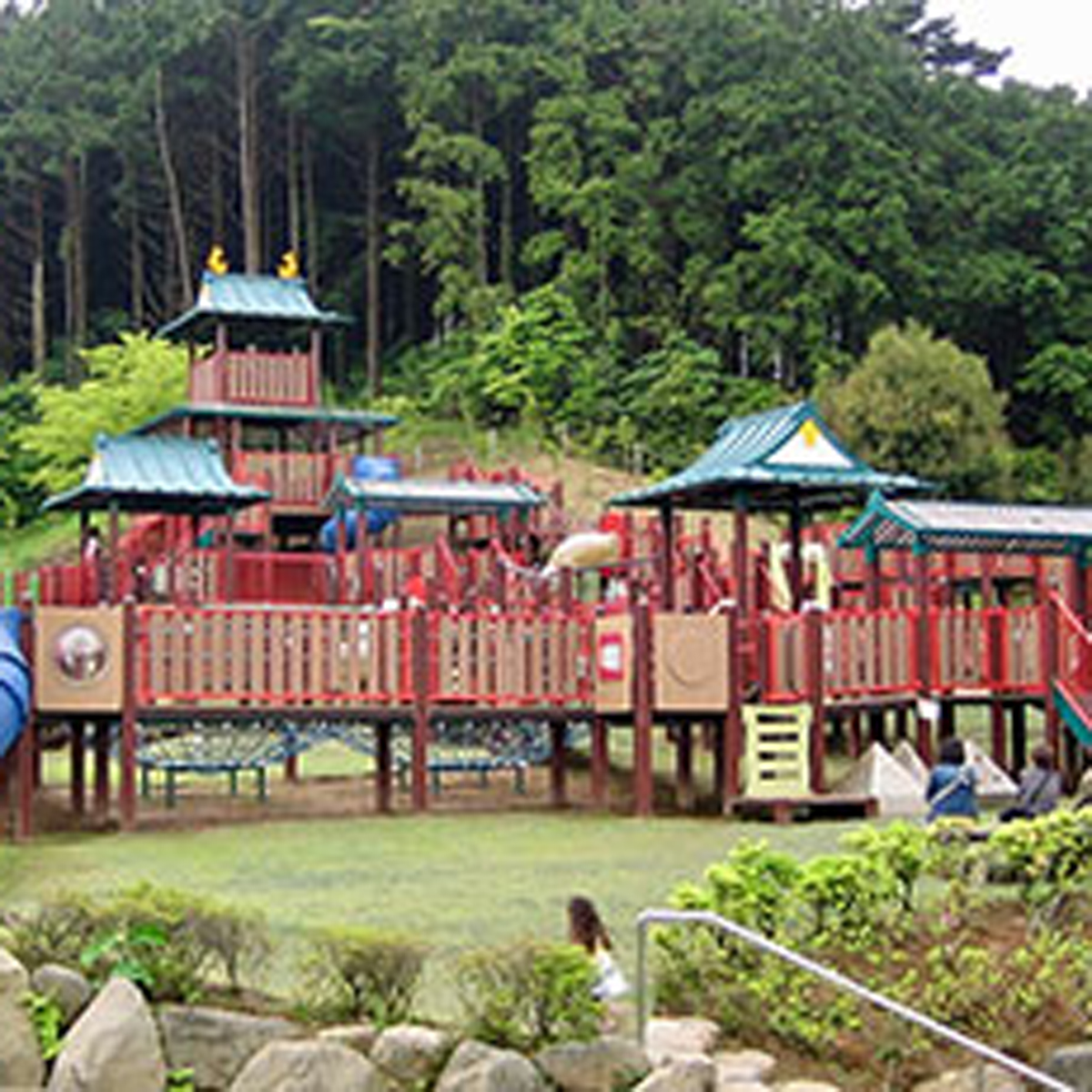 遊びに熱中できる感動と発見の公園 小田原こどもの森公園わんぱくらんどについて