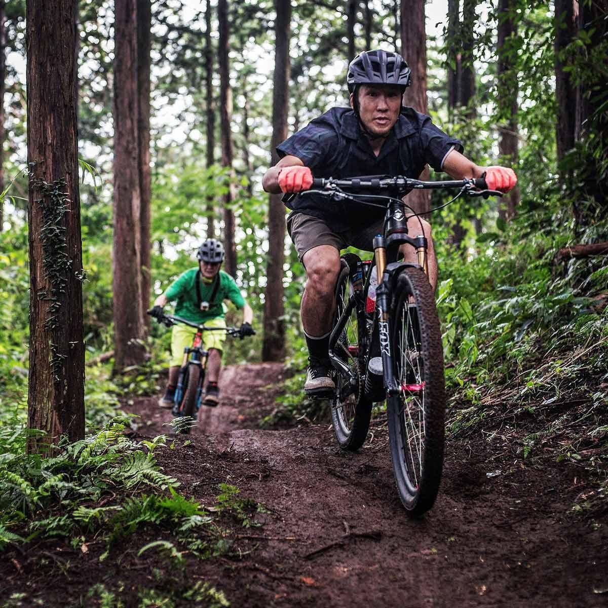都心に一番近いマウンテンバイクトレイルコース「フォレストバイク」について